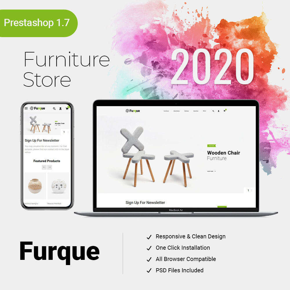 theme - Дом и сад - Furque - Furniture Store - 1
