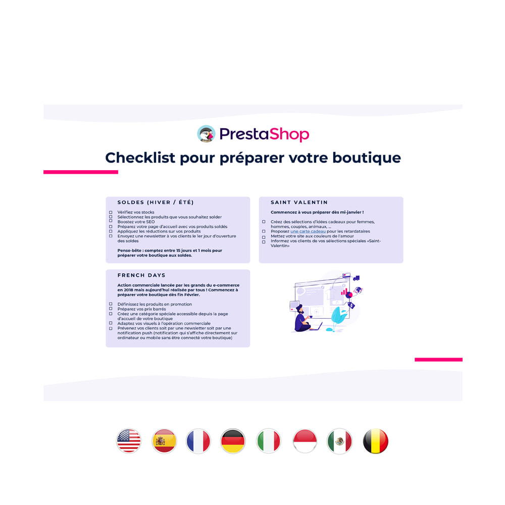 other - e-Commerce Calendar - 2020 E-commerce Calendar FRANCE - 3