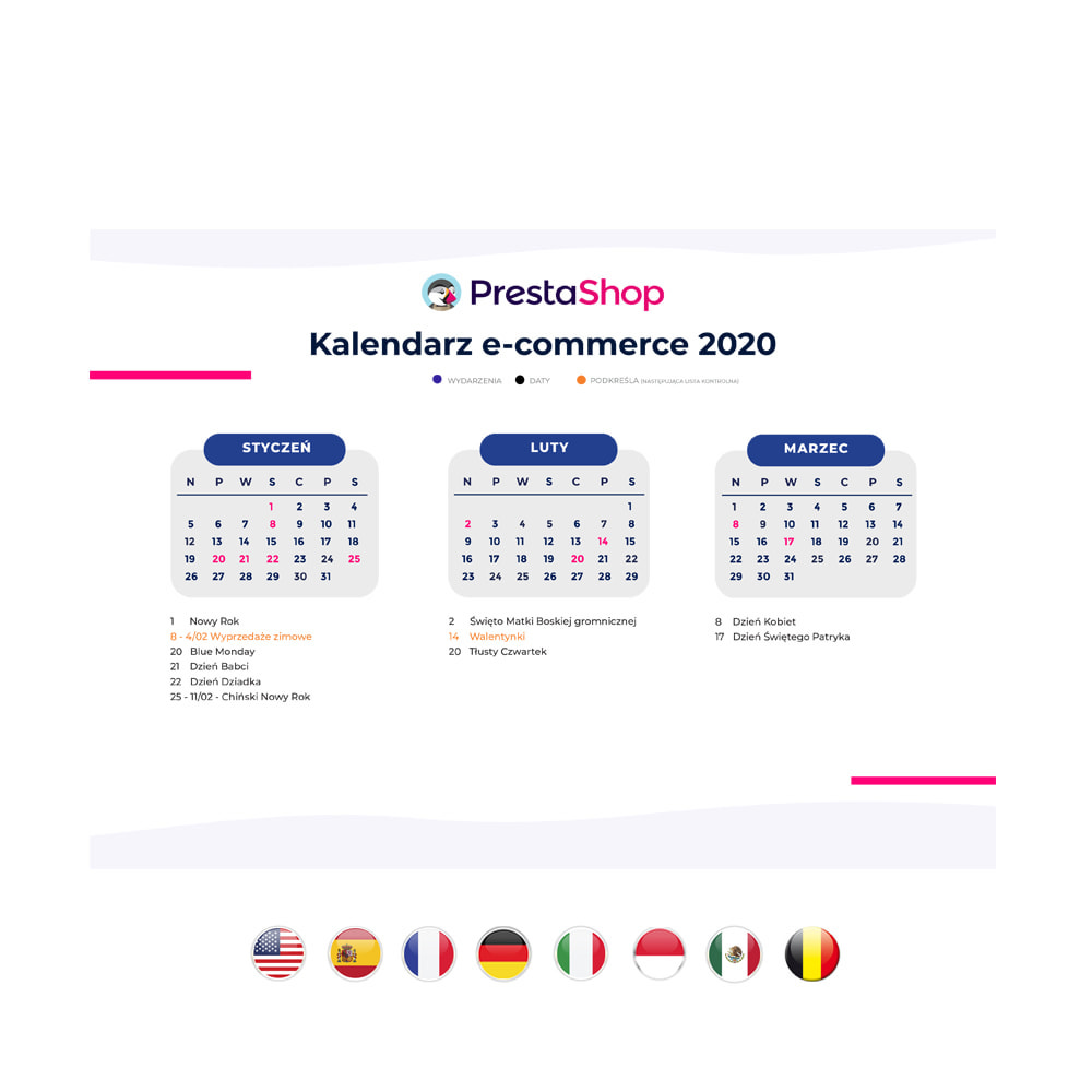 other - Calendrier e-Commerce - Calendrier e-commerce 2020 POLOGNE - 2