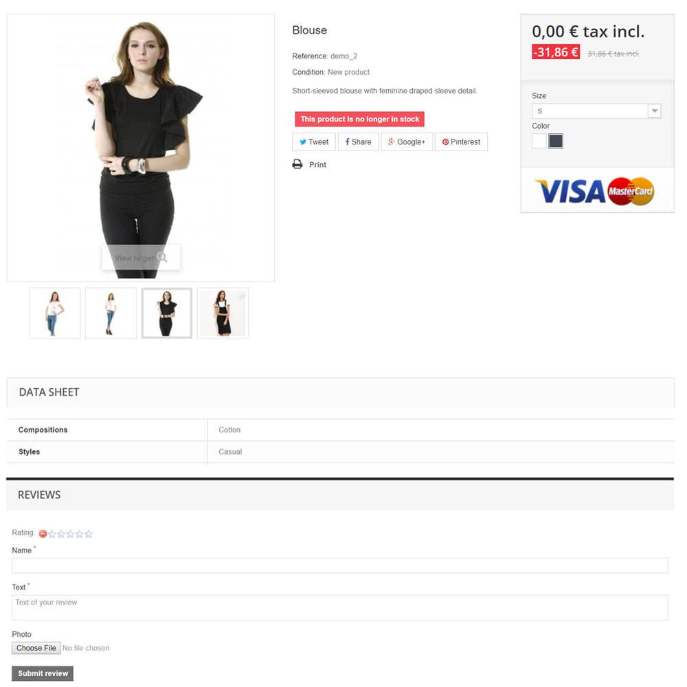 module - Opinie klientów - Recenzje na temat Twojego sklepu / produktu - 7