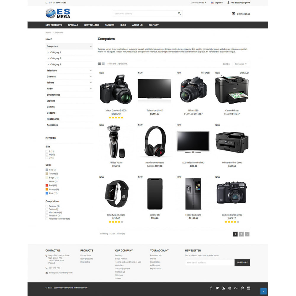 theme - Electronics & Computers - Mega Electronic Store - 4
