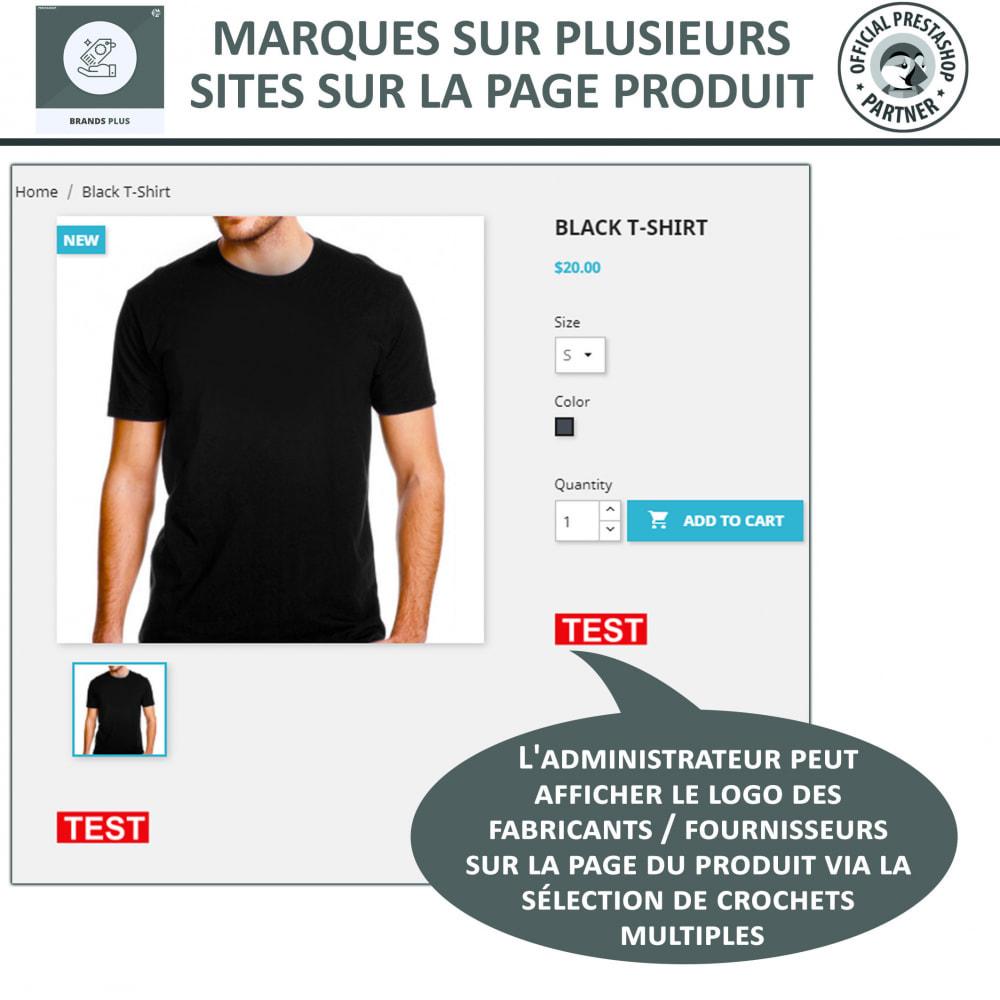 module - Marques & Fabricants - Brands Plus, Marques reactive et Carrousel de Fabricant - 5