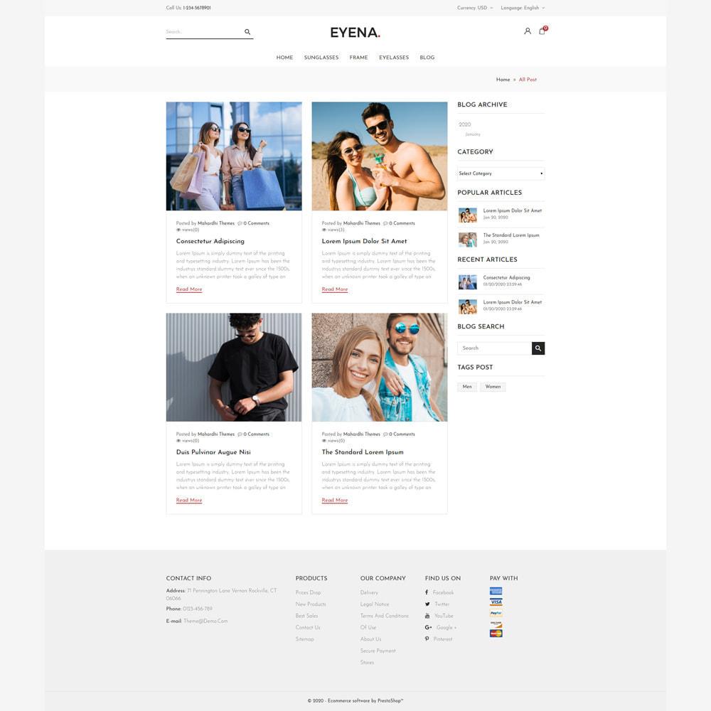 theme - Moda & Obuwie - Eyena Goggles Store - 5
