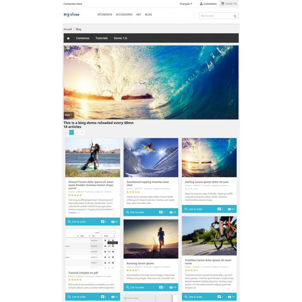 module - Blog, Forum & Actualités - Prestablog : un blog professionnel pour votre boutique - 5