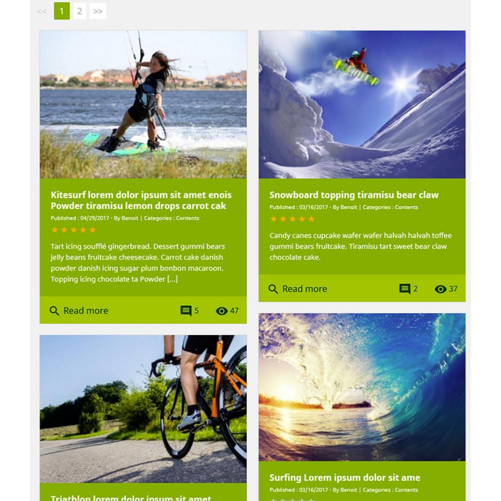 module - Blog, Foro y Noticias - Professional blog - 12