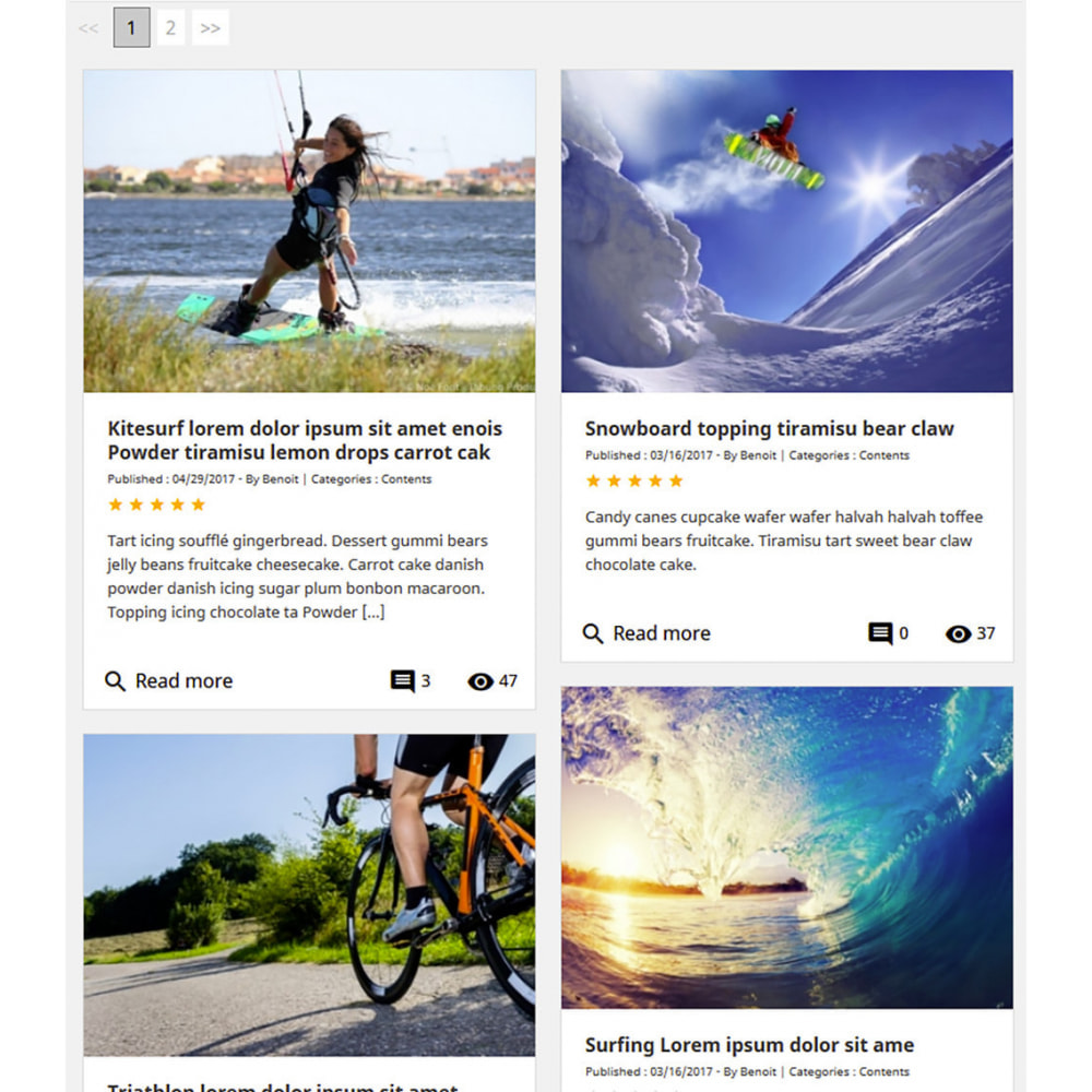 module - Blog, Forum & News - Prestablog: ein professionelles Blog für Ihr Geschäft - 8