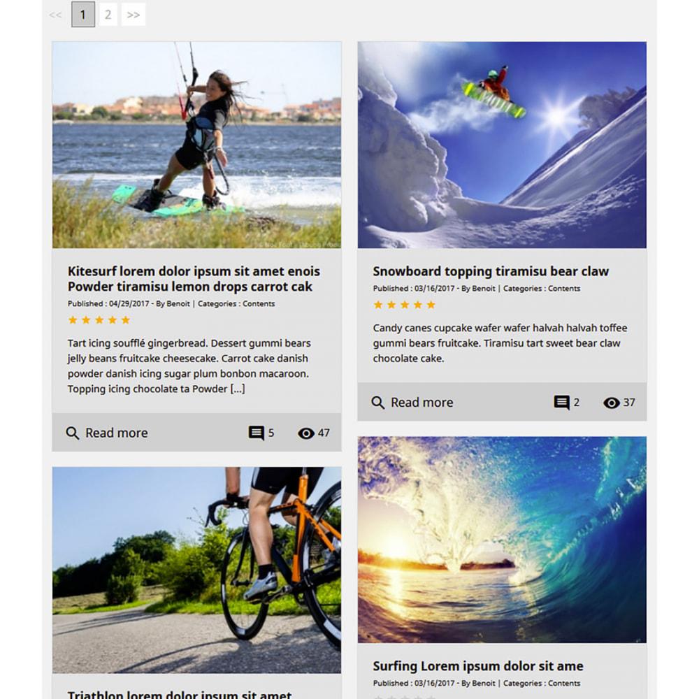 module - Blog, Forum & News - Professionelles Blog Modul - 9