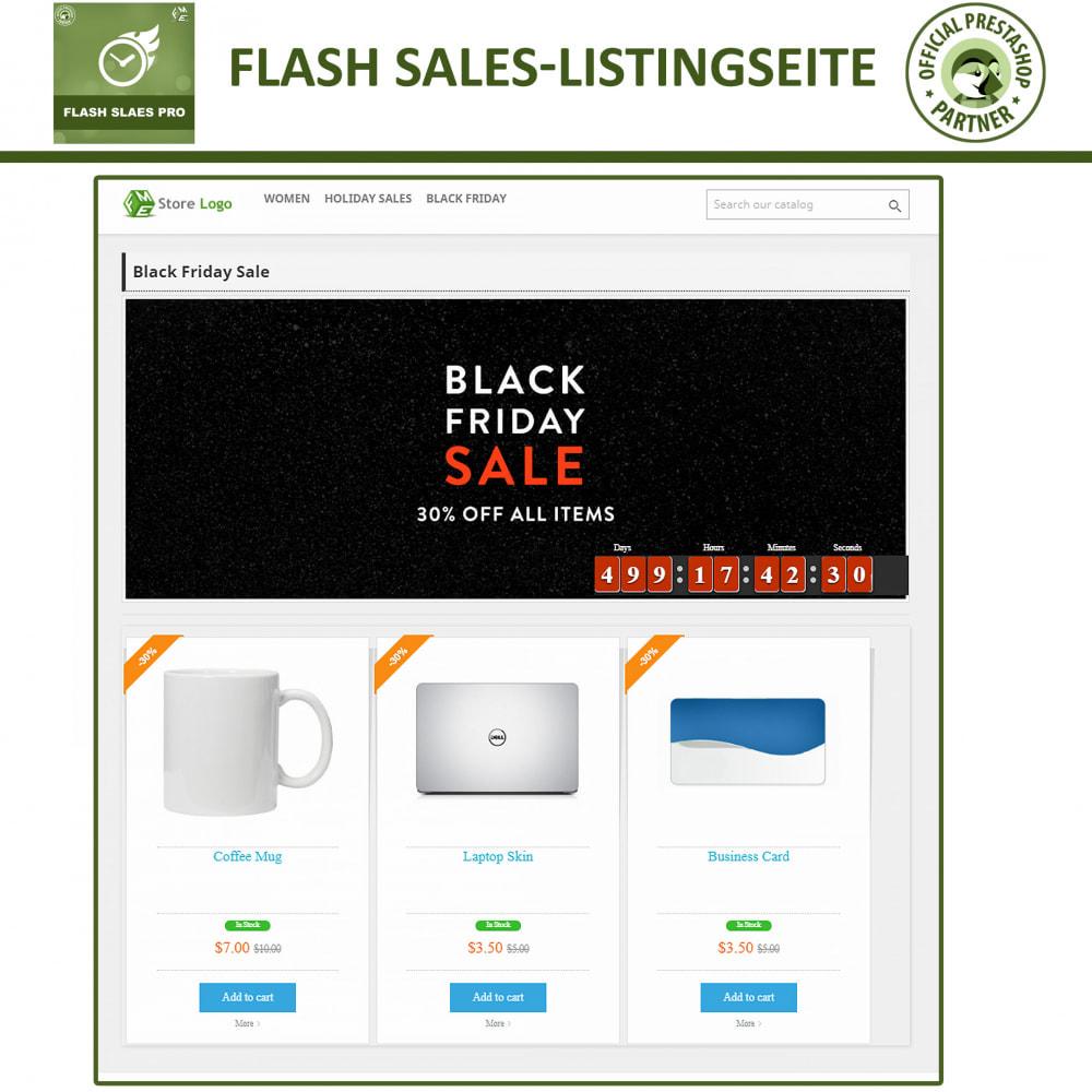 module - Flash & Private Sales - Flash Sales Pro - Werbeverkauf mit Countdown-Timer - 4