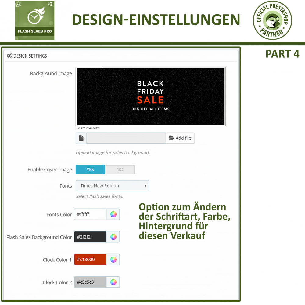 module - Flash & Private Sales - Flash Sales Pro - Werbeverkauf mit Countdown-Timer - 13