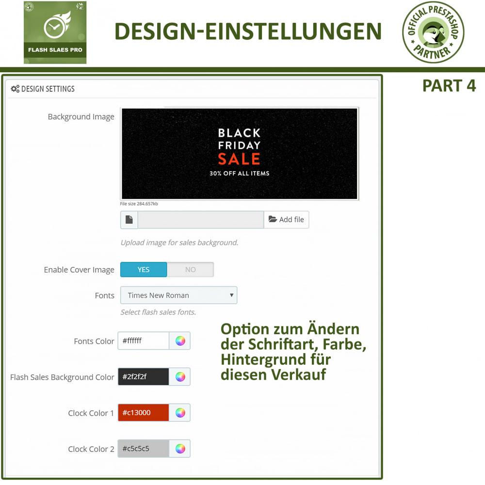 module - Flash & Private Sales - Flash Sales Pro - Werbeverkauf mit Countdown-Timer - 14