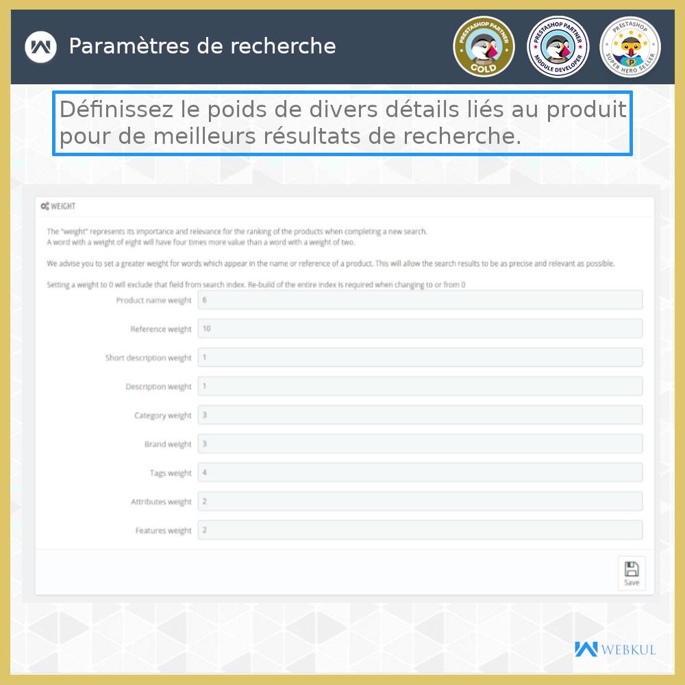 module - Recherche & Filtres - Recherche Avancée - 9