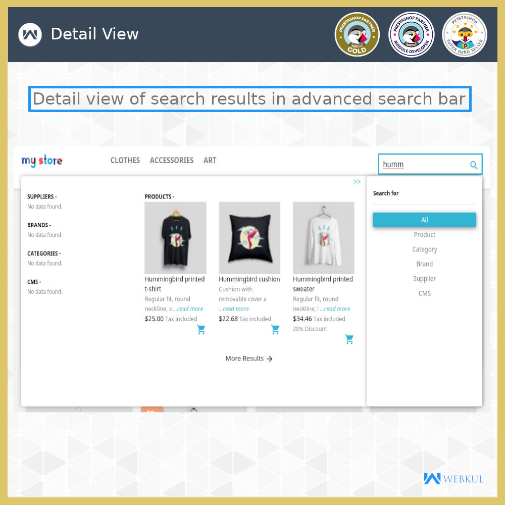 module - Search & Filters - Advanced Search - 6