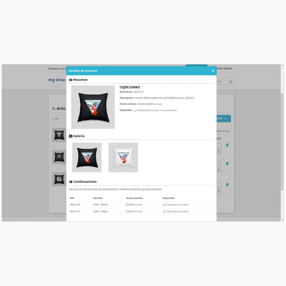 module - Proceso rápido de compra - Formulario de pedido rápido y fácil - 3
