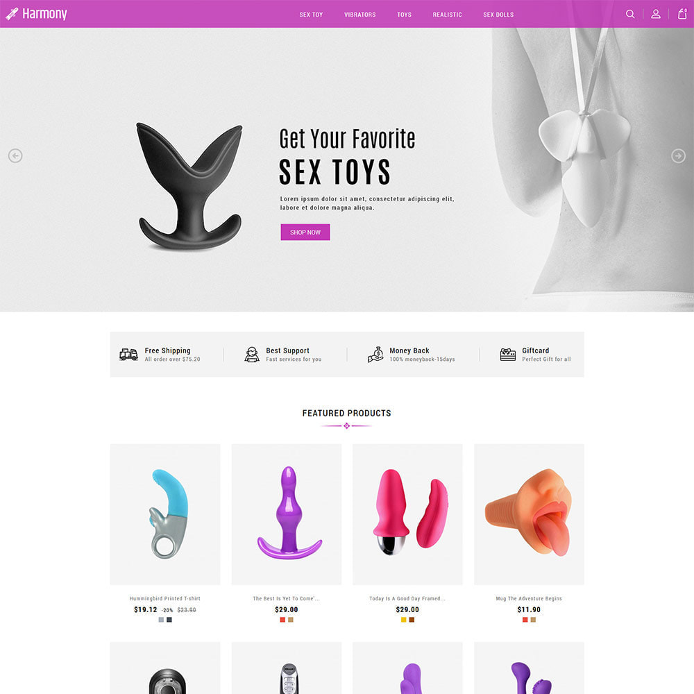 theme - Lingerie & Volwassenen - Volwassen - Seksspeeltje Vibrators Dildo Store - 3