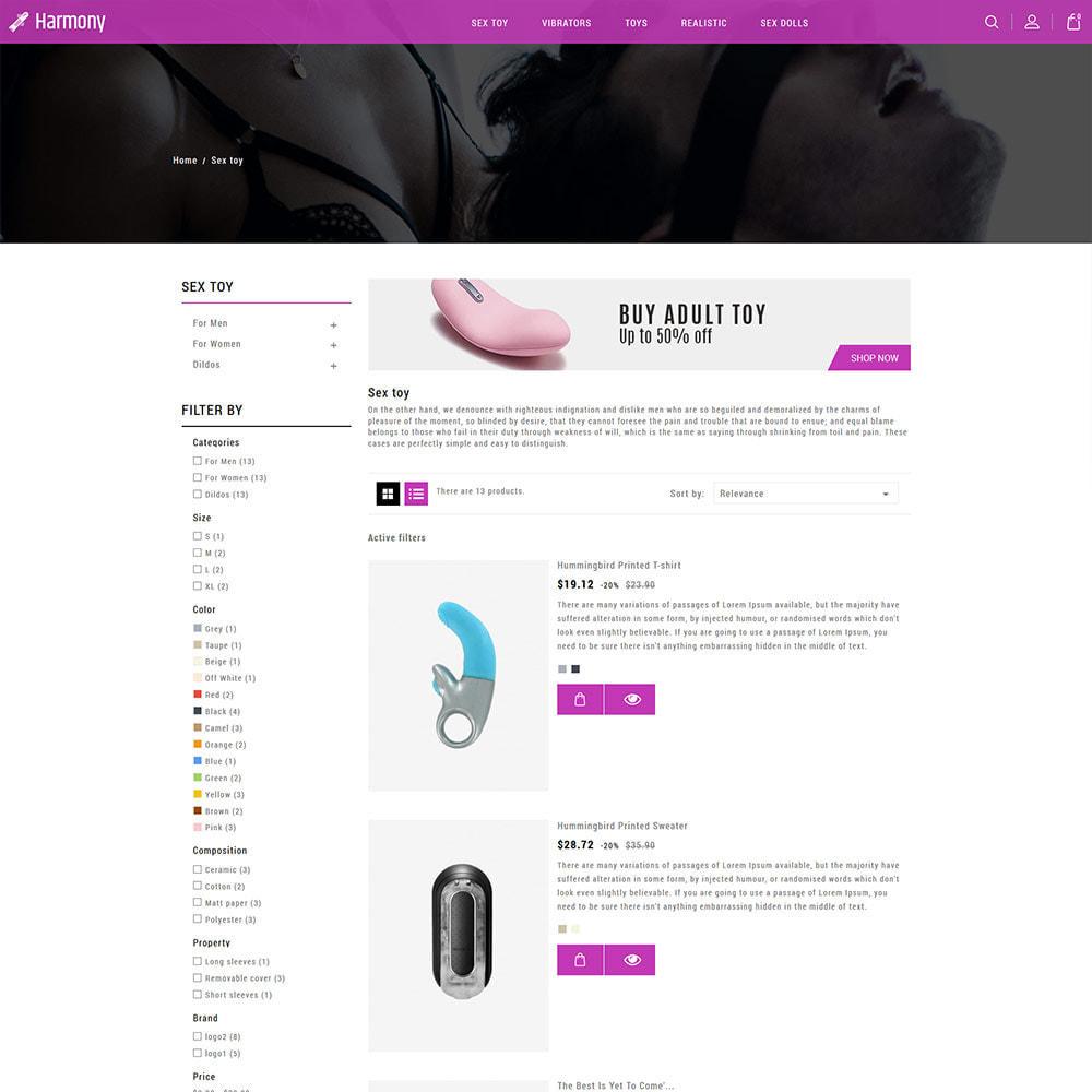 theme - Lingerie & Adultos - Adulto - Sex Toys Vibradores Dildo Store - 5