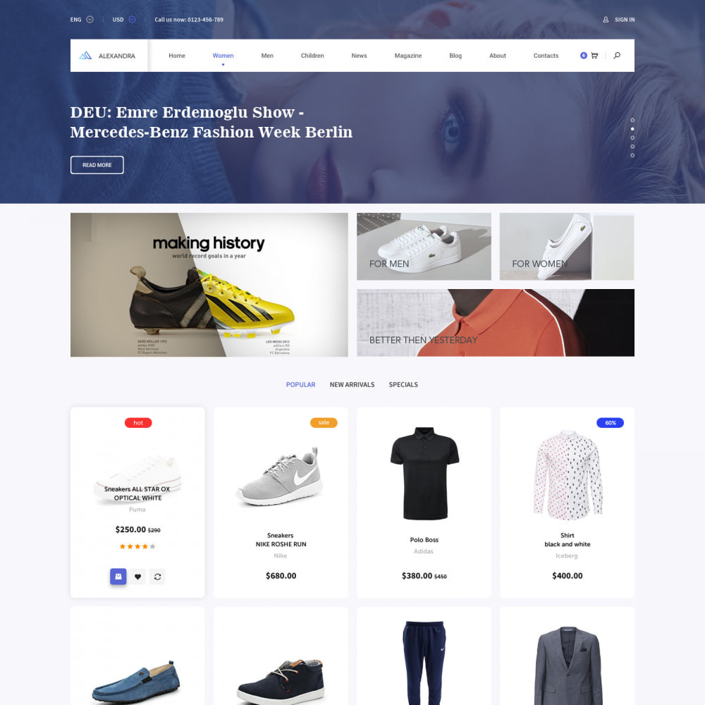 theme - Мода и обувь - Pro Fashion Clothes Store - 1