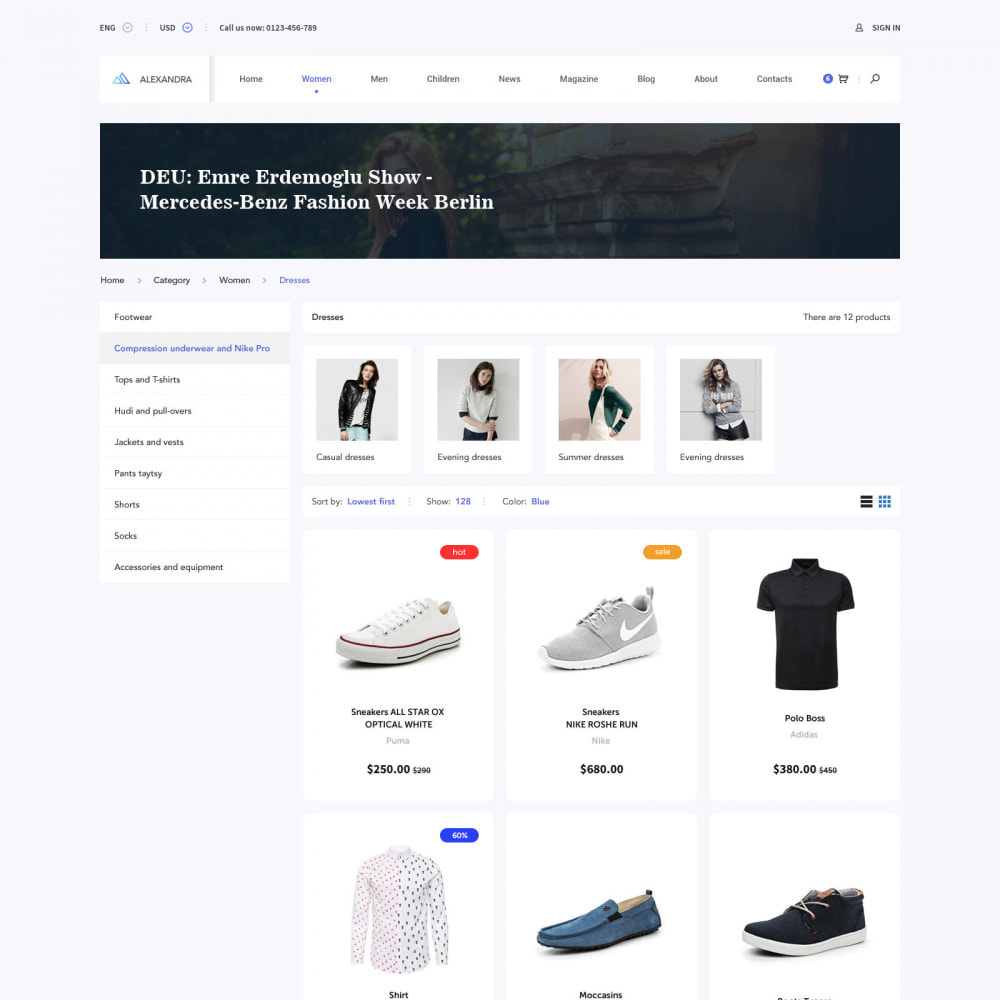 theme - Мода и обувь - Pro Fashion Clothes Store - 2