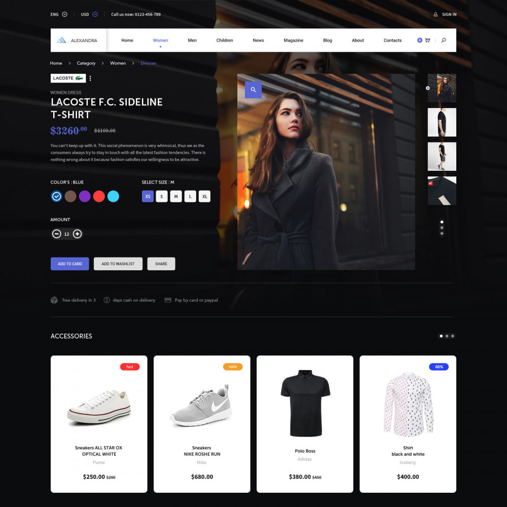 theme - Мода и обувь - Pro Fashion Clothes Store - 3