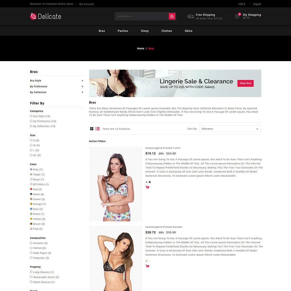 theme - Нижнее белье и товары для взрослых - Lingerie - Магазин пижамных трусиков с трусиками - 5
