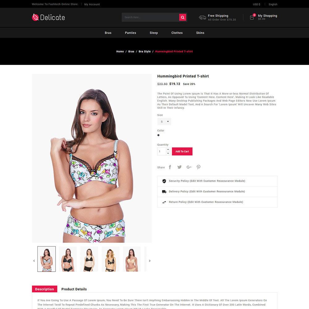 theme - Нижнее белье и товары для взрослых - Lingerie - Магазин пижамных трусиков с трусиками - 6