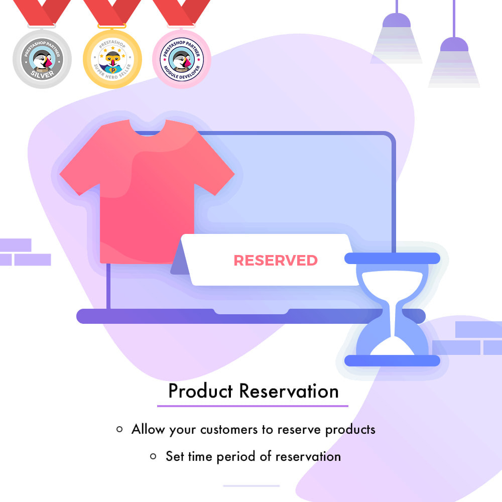 module - Additional Information & Product Tab - Product Reservation - 1