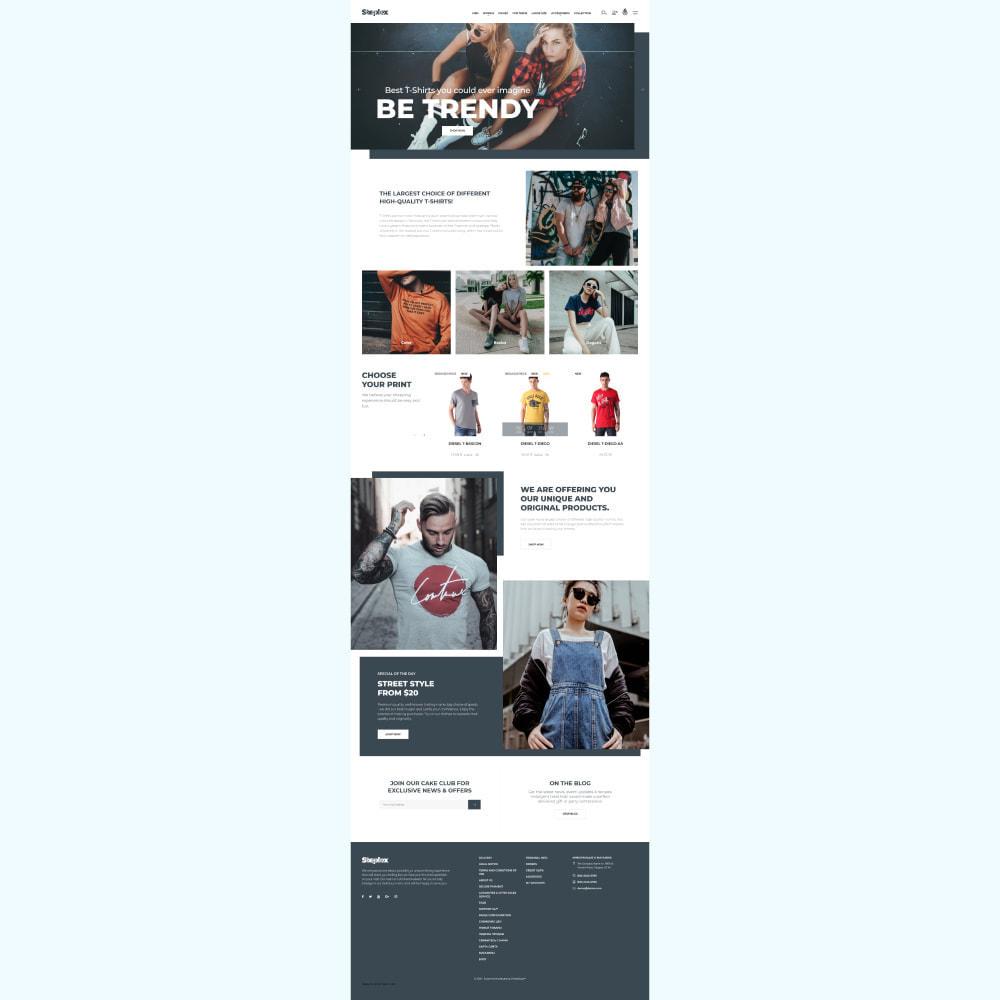 theme - Mode & Schuhe - Steplex - T-Shirt Store - 2