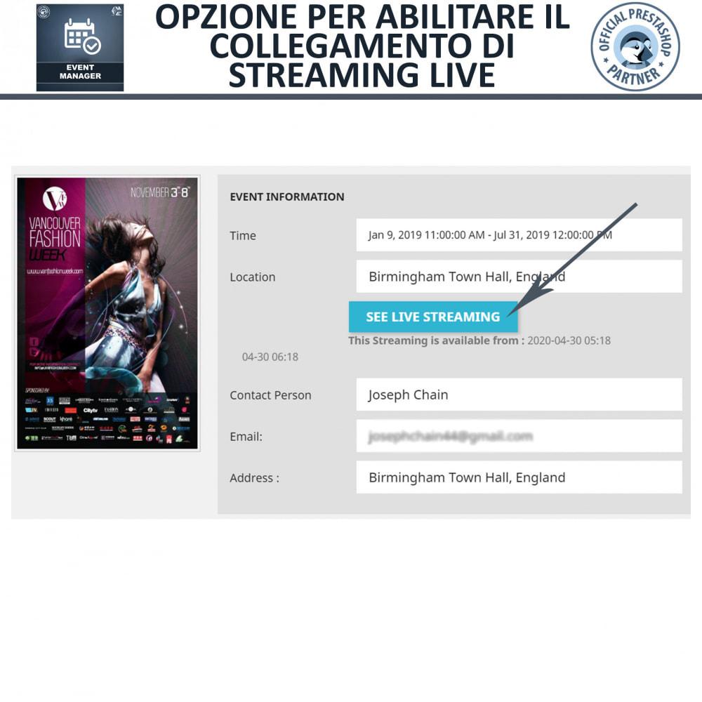 module - Prenotazioni & Noleggi - Manager degli Eventi, Crea Eventi & Vendi biglietti - 4
