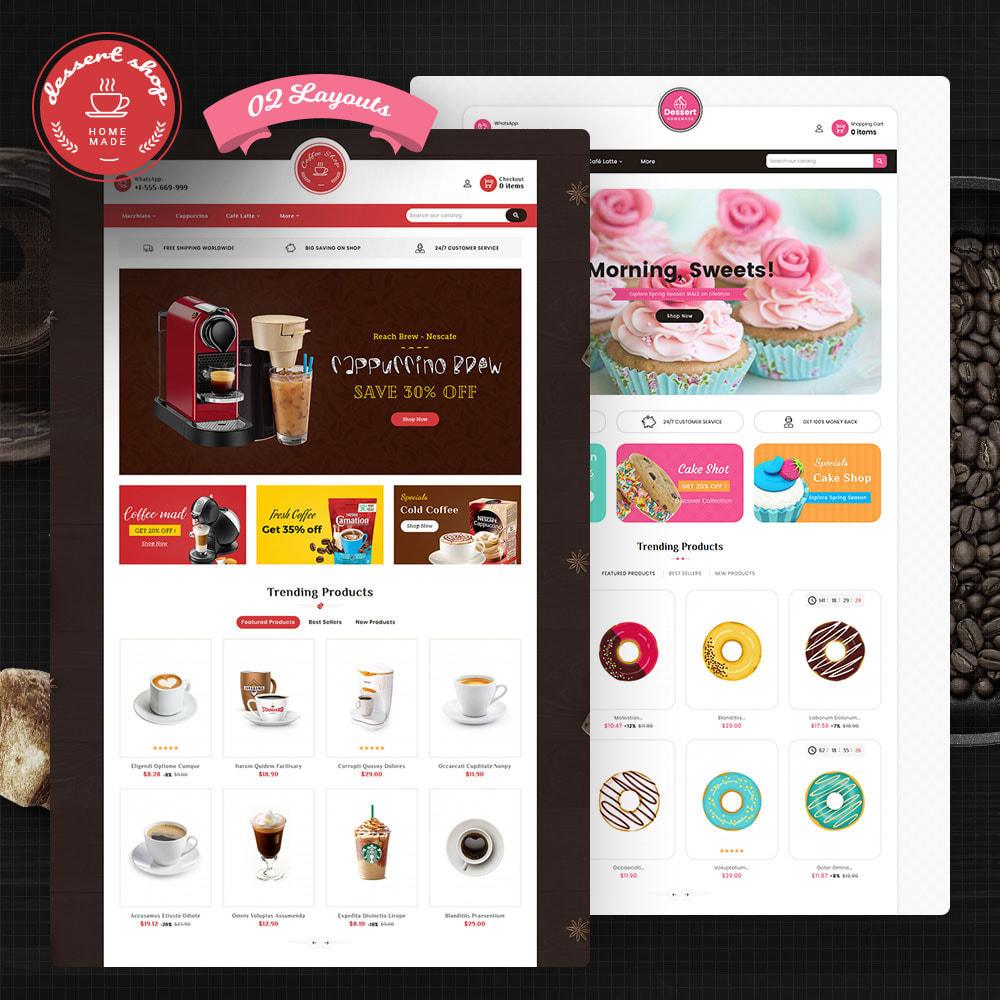 theme - Food & Restaurant - Dessert - Cake & Coffee Store - 1
