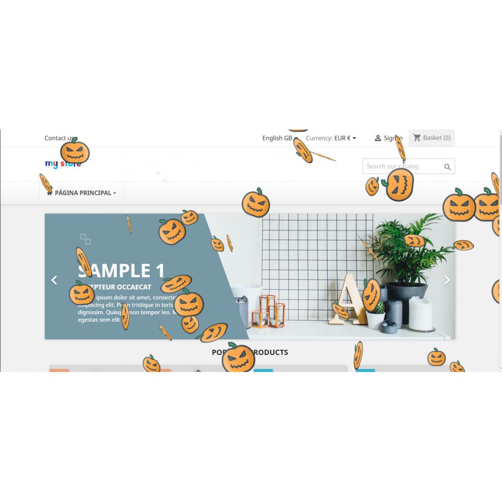 module - Personalizzazione pagine - Effetti personalizzati per Natale, San Valentino, etc - 4