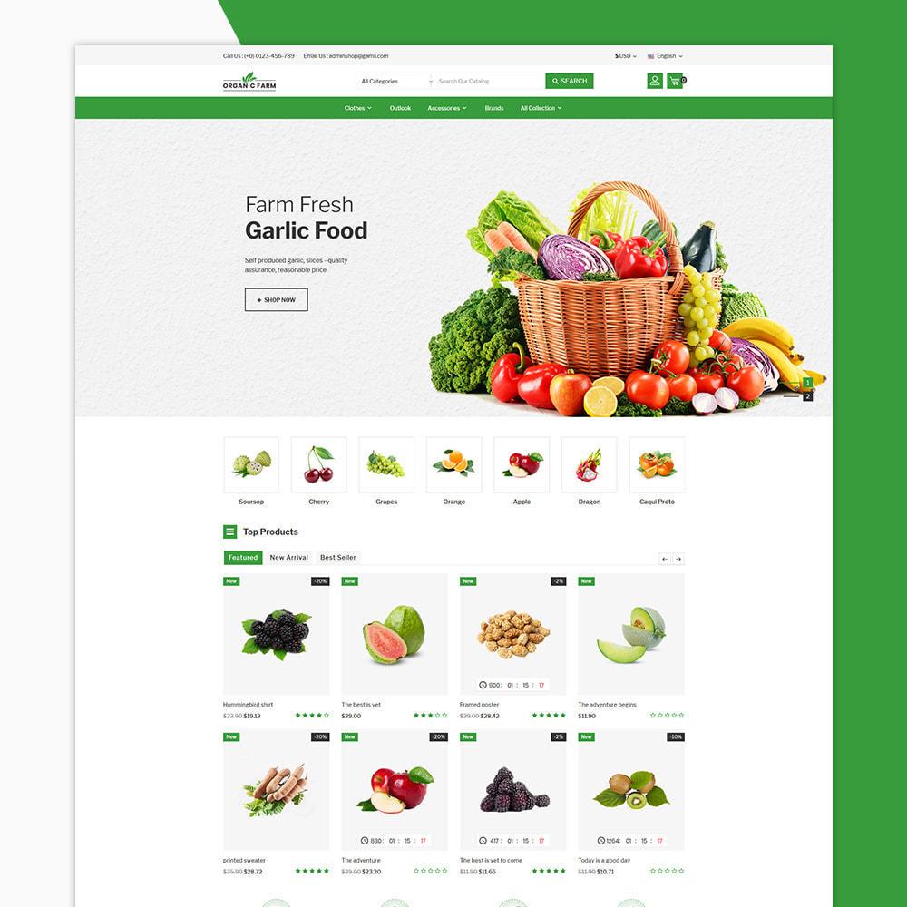theme - Alimentation & Restauration - Organic Farm & Vegetable Store - 2