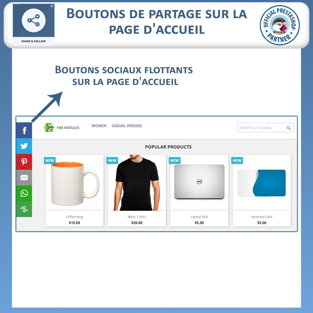 module - Boutons de Partage & Commentaires - Partagez et Suivez - Widget Social - 2