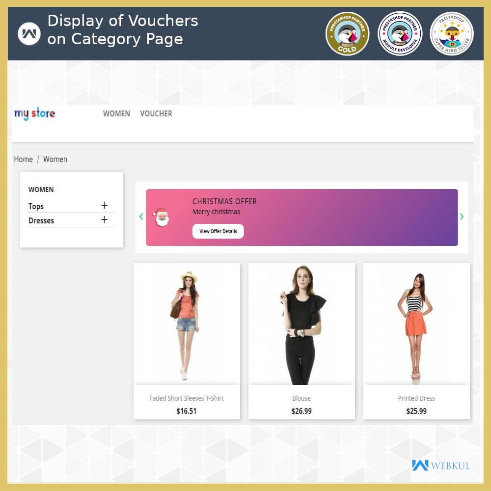 module - Promociones y Regalos - Voucher Promotion | Coupon Advertisement - 4