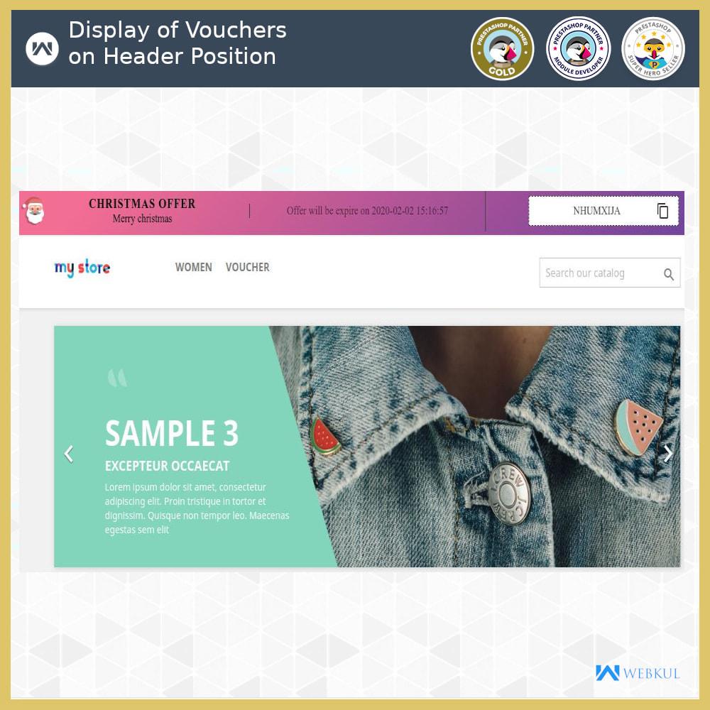 module - Promociones y Regalos - Voucher Promotion | Coupon Advertisement - 5