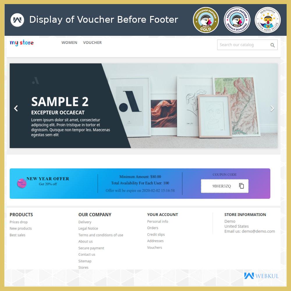 module - Promociones y Regalos - Voucher Promotion | Coupon Advertisement - 6