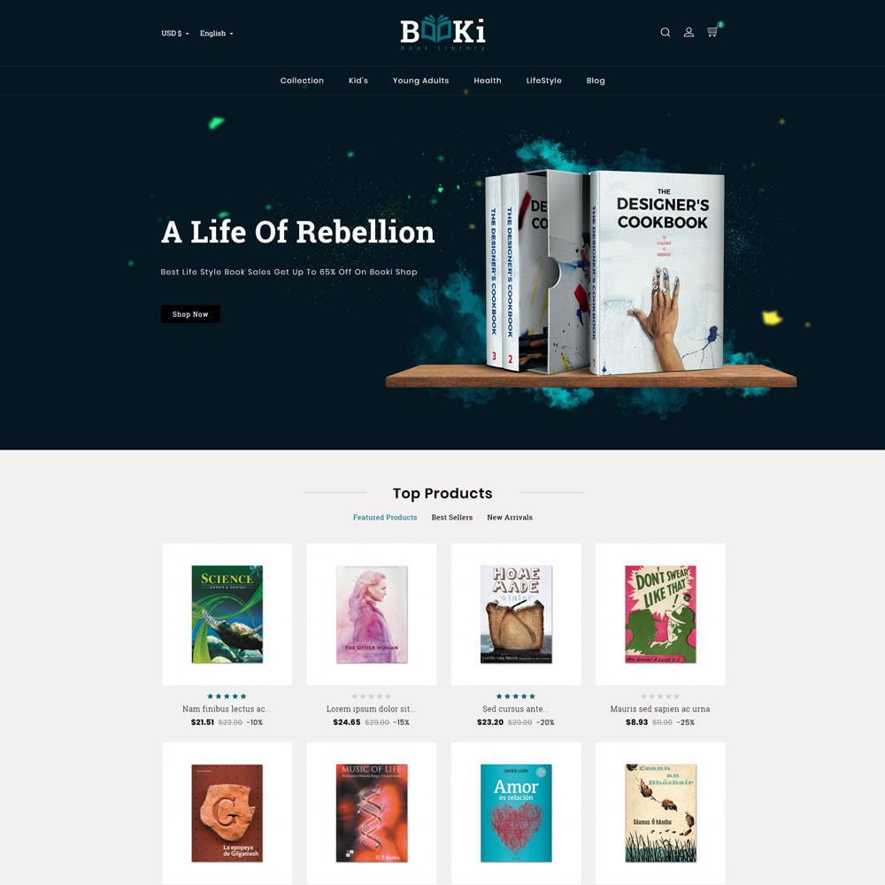 theme - Home & Garden - Booki Book Shop - 2