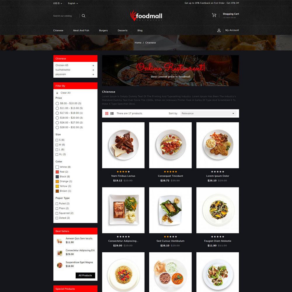 theme - Food & Restaurant - Foodmall Online Food Shop - 3