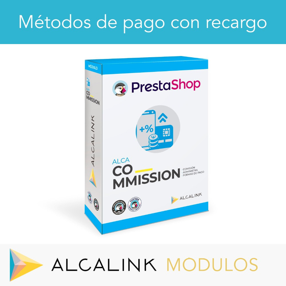 module - Pago con Tarjeta o Carteras digitales - Métodos de pago con recargo - Compatible PS Checkout - 1