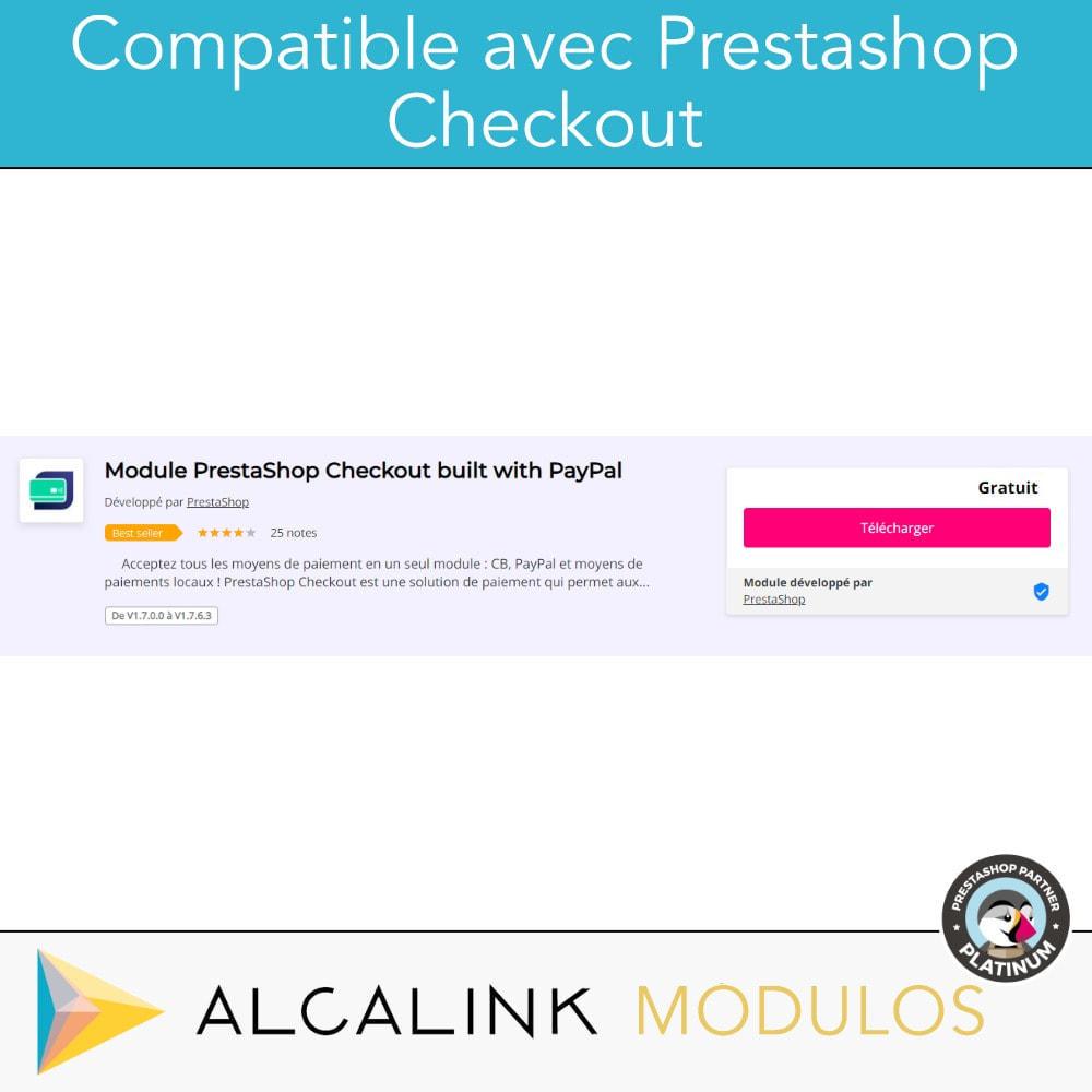 module - Paiement par Carte ou Wallet - Paiement avec supplément - Compatible avec PS Checkout - 2