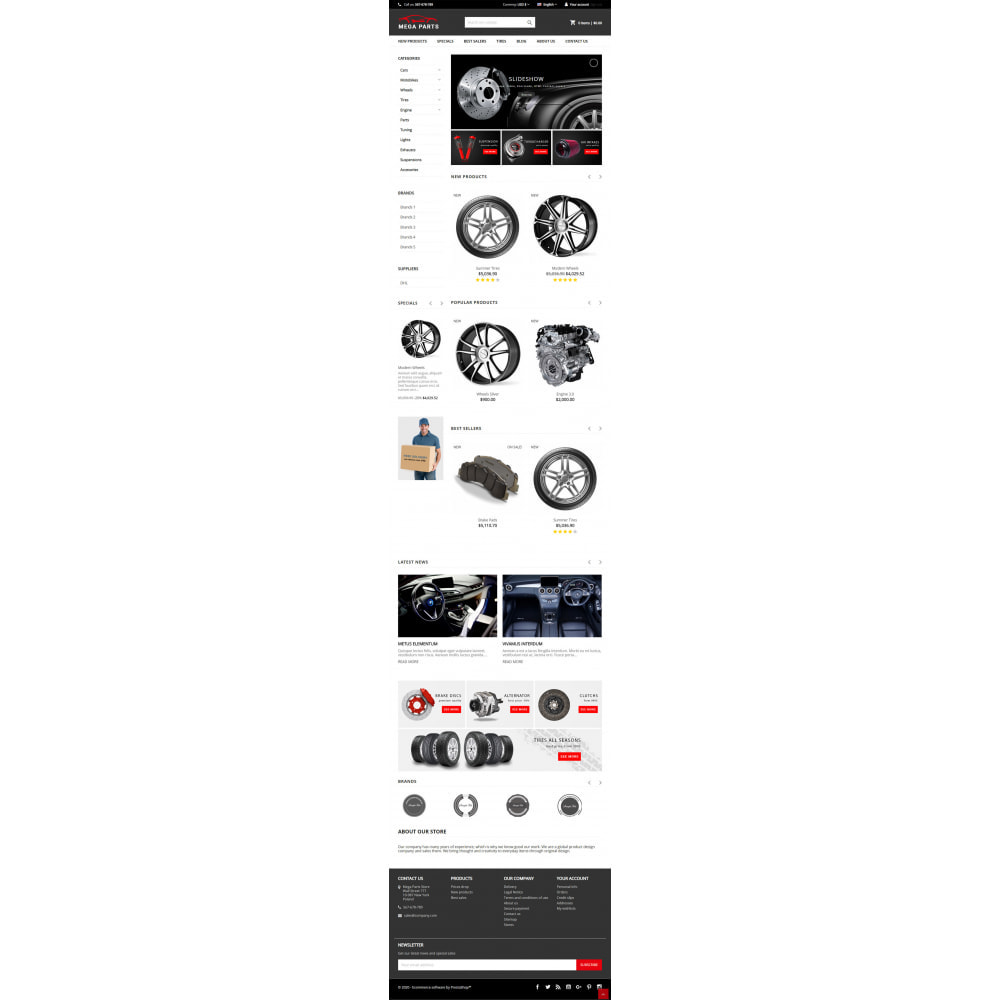 theme - Samochody - Mega Parts Store - 5