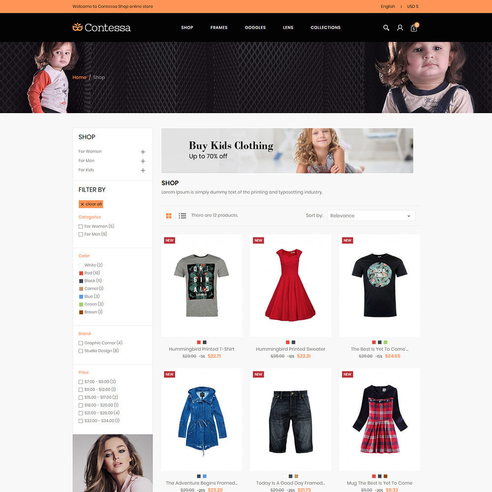 theme - Kids & Toys - Kids Cloth - Designer Baby Toys Fashion Store - 2