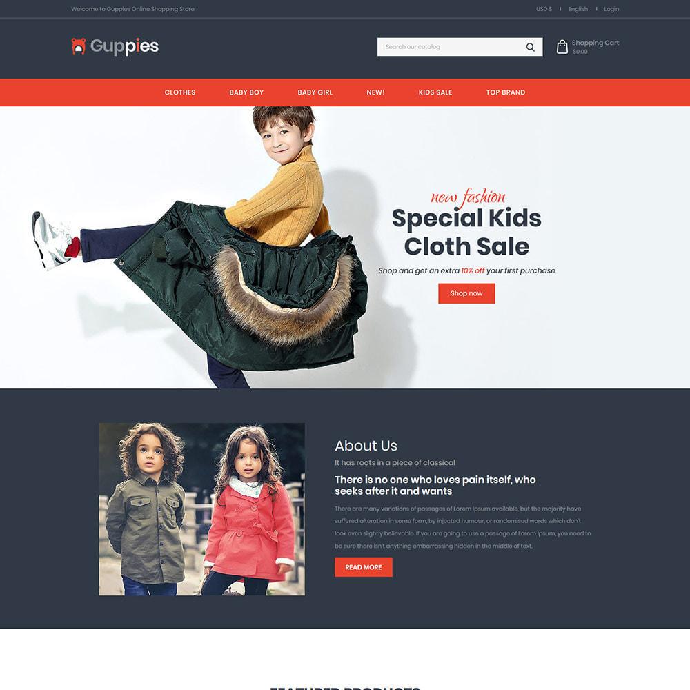 theme - Kids & Toys - Baby Cloth - Girls Fashion Designer Store - 1