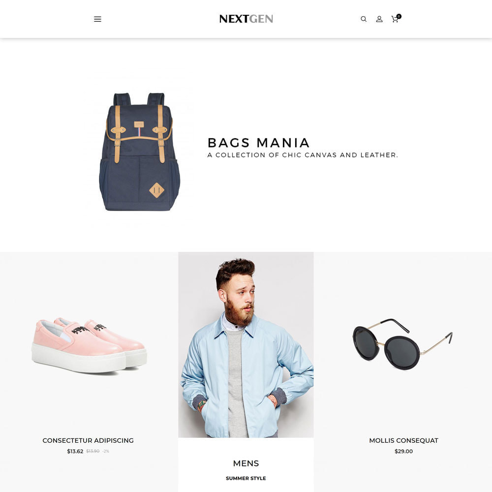 theme - Fashion & Shoes - Nextgen - The Fashion Store - 3
