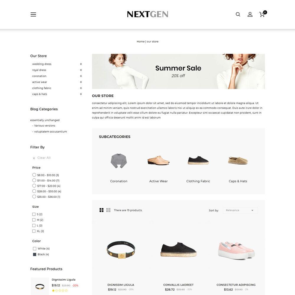 theme - Fashion & Shoes - Nextgen - The Fashion Store - 4