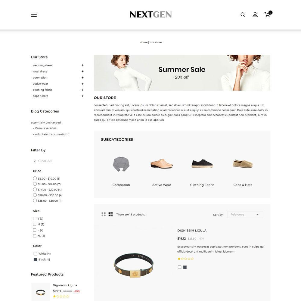 theme - Fashion & Shoes - Nextgen - The Fashion Store - 5