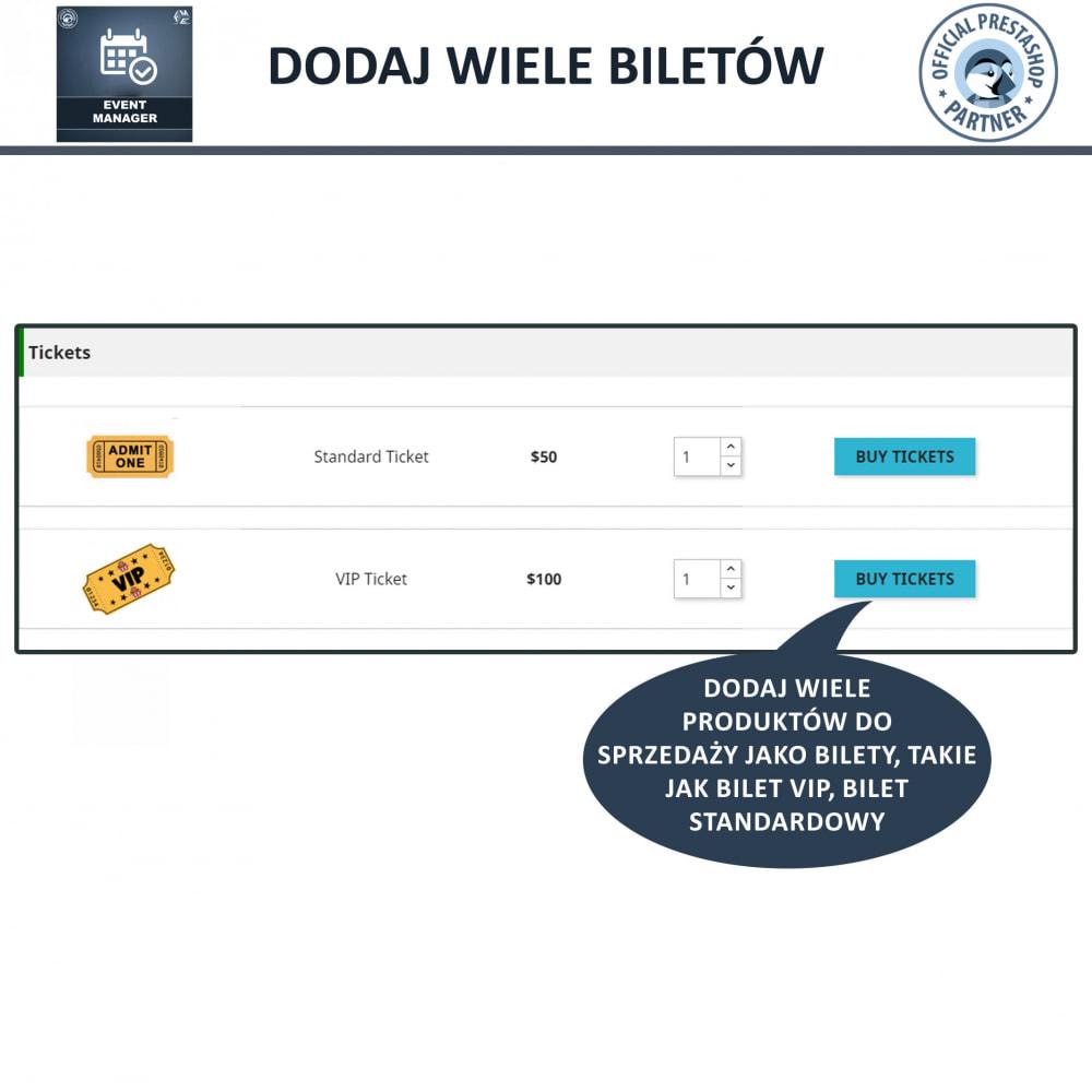 module - Wynajmu i rezerwacji - Menadżer wydarzeń, Twórz Wydarzenia i Sprzedawaj Bilety - 5