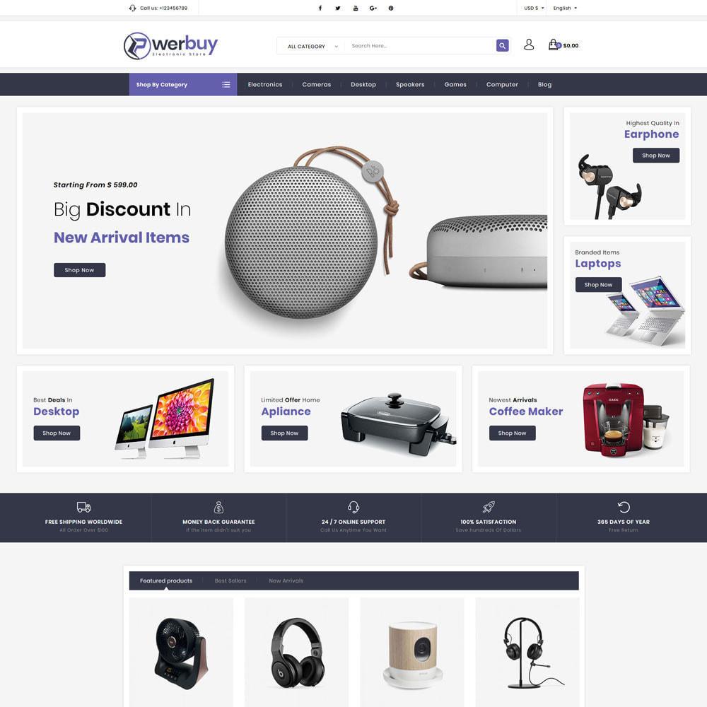 theme - Electronics & Computers - Powerbuy - Electronic Shop - 2