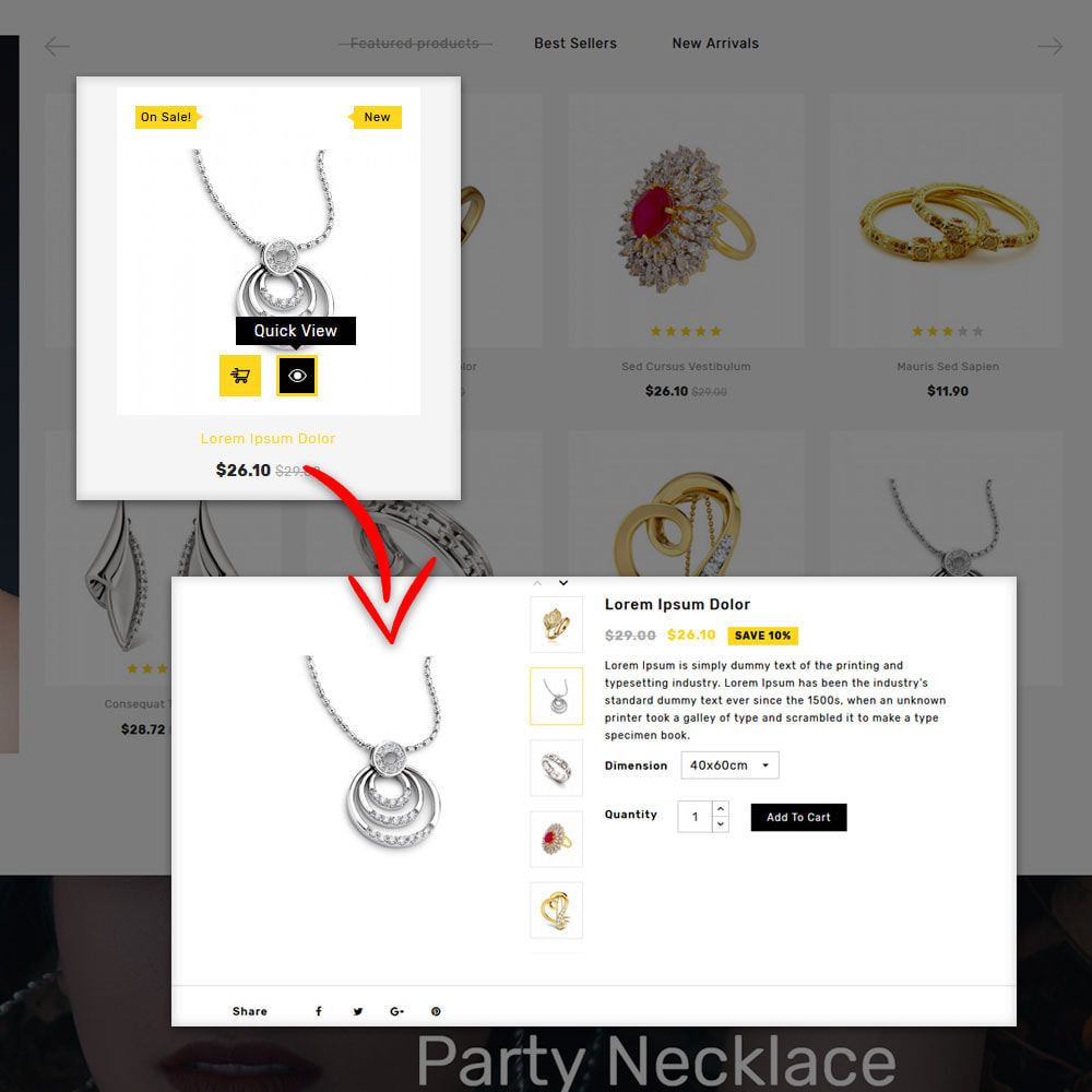 theme - Jewelry & Accessories - Queen jewellery Shop - 6