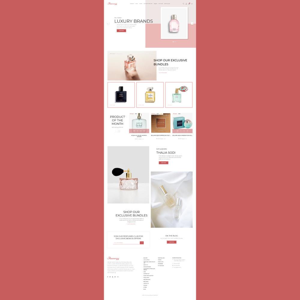 theme - Gezondheid & Schoonheid - Flavoryy - Perfume Shop - 2