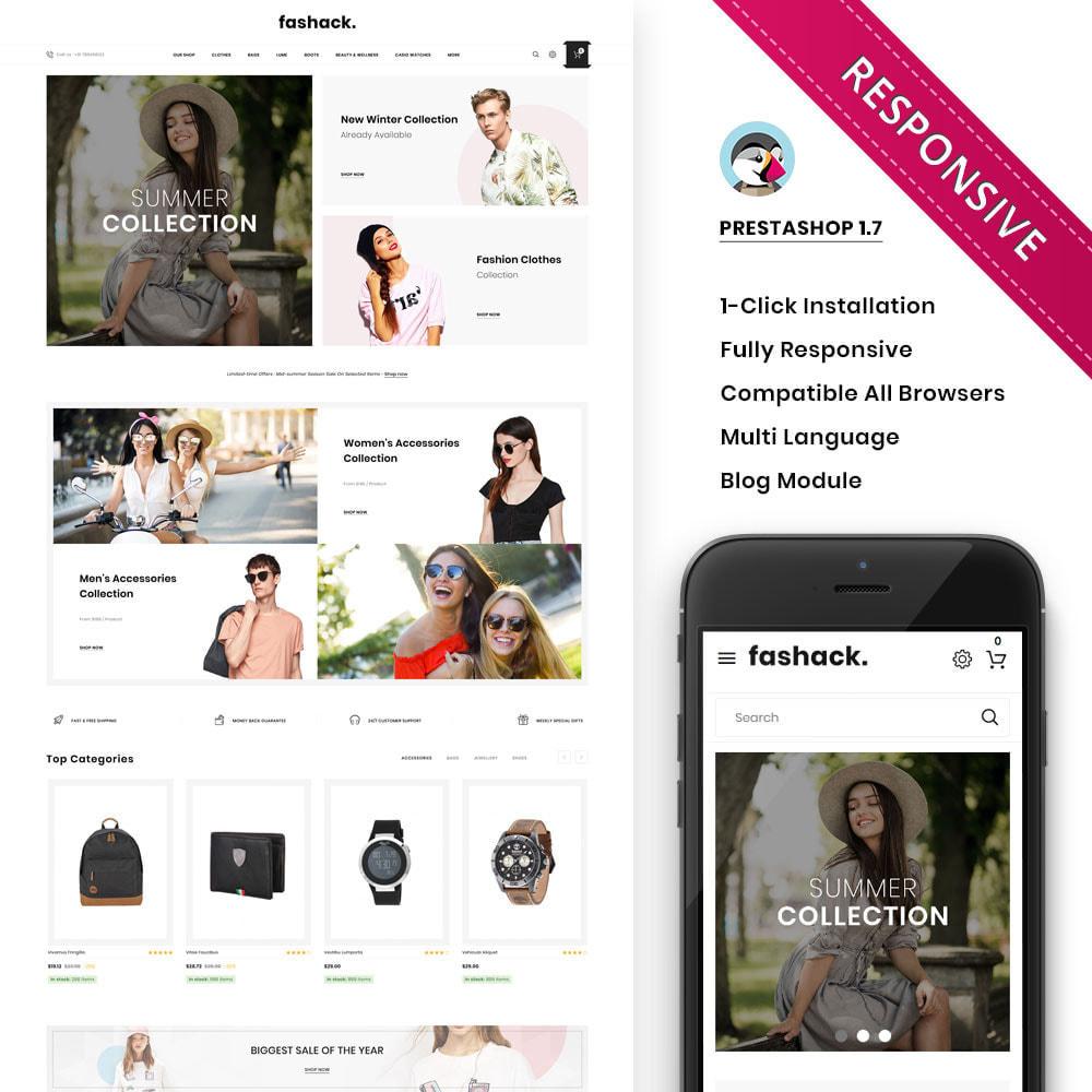 theme - Moda y Calzado - Fashack - La tienda de moda - 2