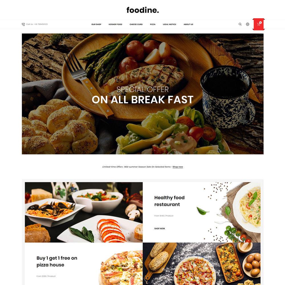 theme - Cibo & Ristorazione - Foodine - Il mega negozio di alimentari - 4